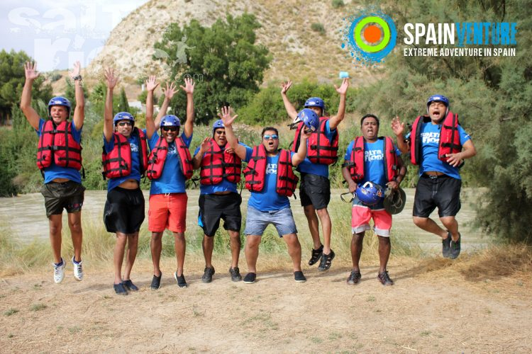spainventure-rafting-at-genil-river-50th-birthday-caballito-jumping-fuengirola