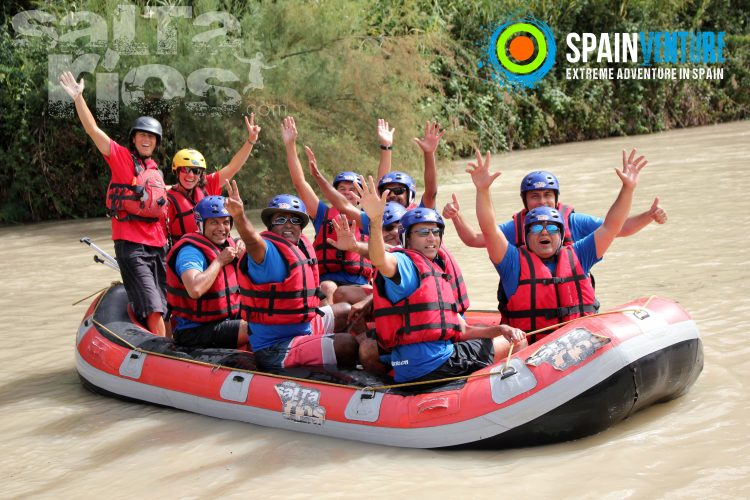spainventure-rafting-at-genil-river-50th-birthday-funny-people-fuengirola