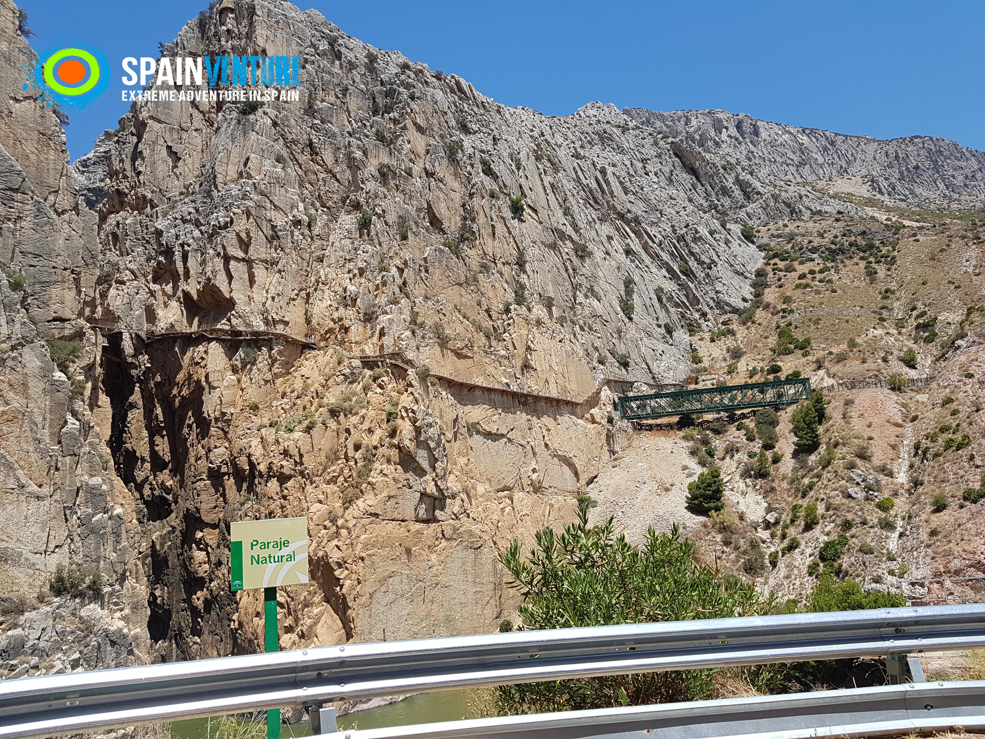Spainventure Caminito del Rey Barranquismo en Ronda Vistas de Caminito del Rey